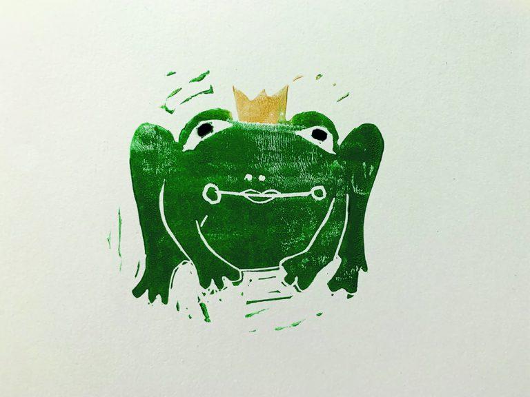 Froschkönig Karte