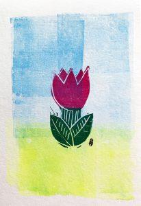 Tulpe Karte